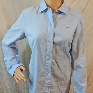 Light blue Vineyard Vines 100% cotton button-down